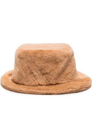 Ruslan Baginskiy Damen Hüte - Fischerhut aus Faux Fur