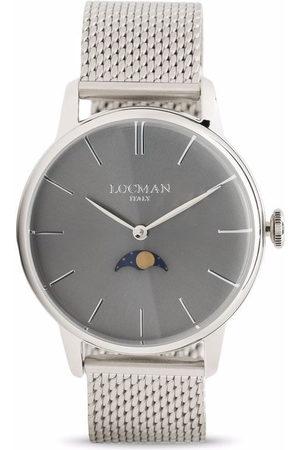 Locman Italy Herren Uhren - 1960 Moon Phase 41mm