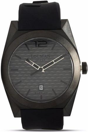Locman Italy Stealth Armbanduhr mit Quarzwerk 41mm