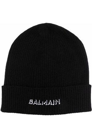 Balmain Mädchen Hüte - Mütze mit Logo-Print