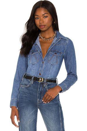 One Teaspoon Classic Denim Shirt in . Size M, S, XL, XS.