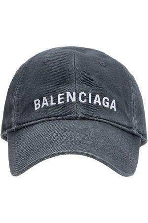 Balenciaga Kappe Aus Baumwolle Mit Logo