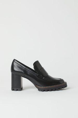 H&M Loafer mit Blockabsatz