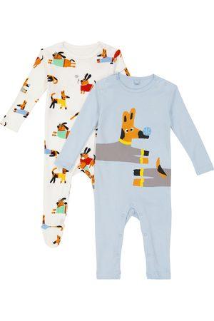 Stella McCartney Baby Outfit Sets - Baby Set aus zwei Stramplern aus Baumwolle