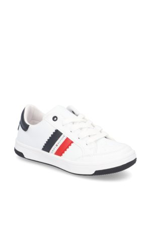 Tommy Hilfiger LOW CUT LACE-UP SNEAKER - weiss