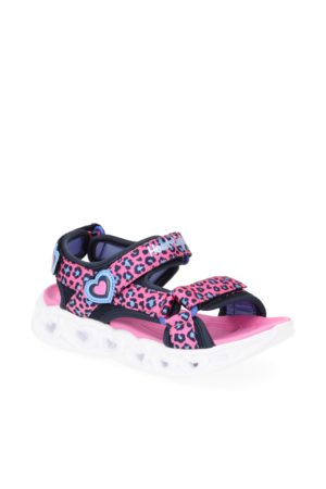 Skechers Heart Lights Sandals Savvy - pink