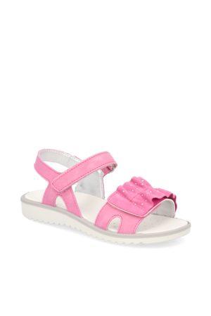 Funky Girls Veloursleder Sandale - pink