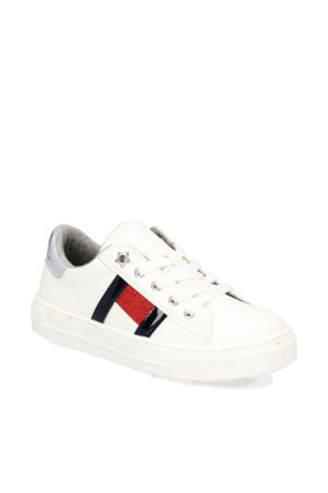 Tommy Hilfiger LOW CUT LACE-UP SNEAKER NICKI - weiss