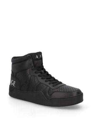 Armani Glattleder Sneaker Mid Cut
