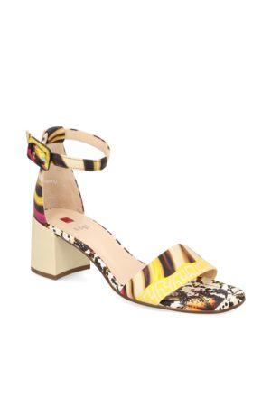 Högl Glattleder Sandale - multicolor