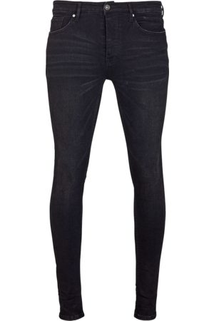 YOUNG POETS SOCIETY Herren Stretch - Jeans Morty 7124 used (black)