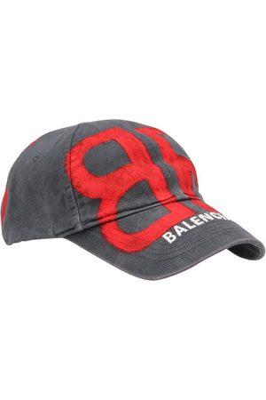 Balenciaga Herren Caps - Logo-Basecap
