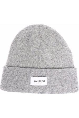 Soulland Mütze mit Logo-Print