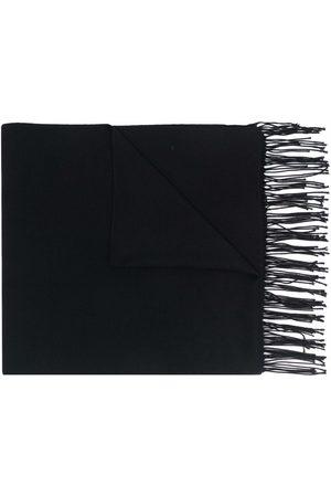 Emporio Armani Langer Schal mit Fransen