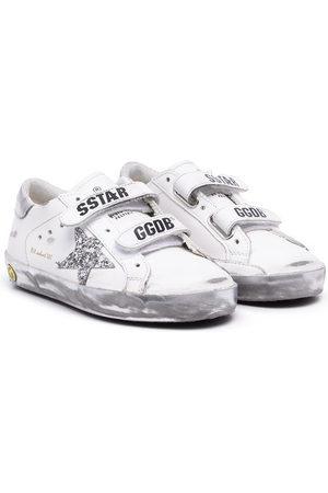 Golden Goose Kids Old School Sneakers mit Klettverschluss