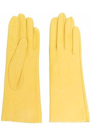 Manokhi Handschuhe mit Zickzackmuster