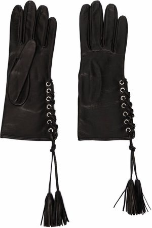 Manokhi Handschuhe mit Schnürung