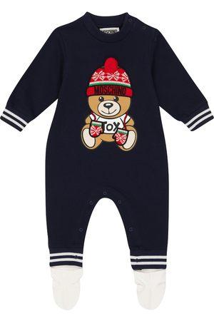 Moschino Kids Baby Strampler aus Jersey