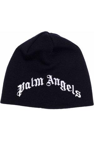Palm Angels Jungen Hüte - Mütze mit Logo-Stickerei