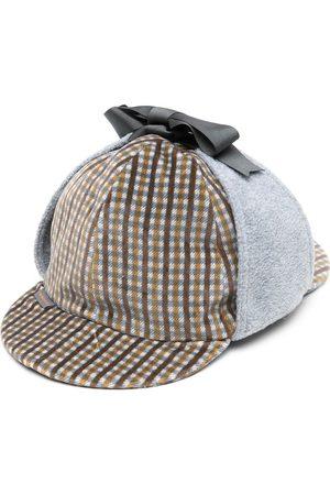 Anglozine Herren Hüte - Karierter Don Deerstalker-Hut