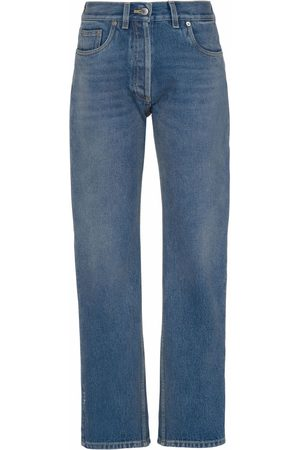 Prada Klassische Cropped-Jeans