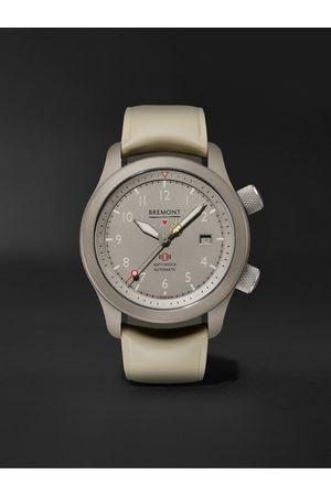 Bremont Herren Uhren - MB Savanna Automatic Chronometer 43mm Titanium and Rubber Watch