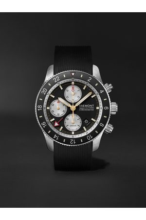 Bremont Herren Uhren - Supermarine Sport Automatic Chronograph 43mm Stainless Steel and Rubber Watch, Ref. No. S200