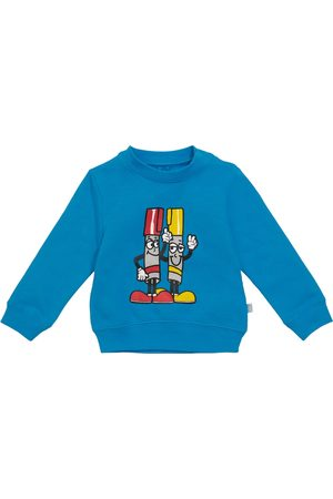 Stella McCartney Baby Bedrucktes Sweatshirt aus Baumwolle