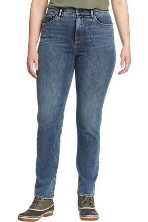 Eddie Bauer Voyager Jeans - Slim Leg - High Rise - Slightly Curvy Damen Gr. 4