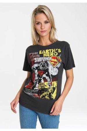 LOGOSHIRT T-Shirt »Superman«, mit lizenziertem Originaldesign