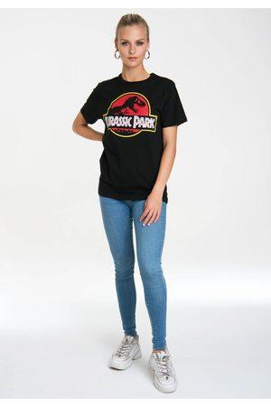 LOGOSHIRT T-Shirt »Jurassic Park«, mit Print mit lizenziertem Originaldesign