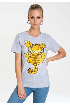 LOGOSHIRT T-Shirt »Garfield – Scratches«, mit Print mit lizenziertem Originaldesign