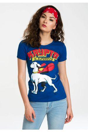 LOGOSHIRT T-Shirt »Krypto the Superdog«, mit lizenziertem Originaldesign