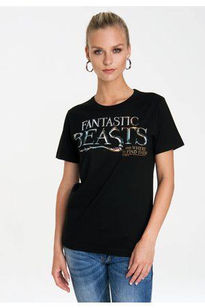 Logoshirt Damen Shirts - T-Shirt »Fantastic Beasts Logo«, mit lizenziertem Originaldesign