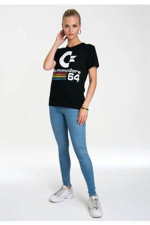 Logoshirt T-Shirt »Commodore C64«, mit lizenziertem Originaldesign
