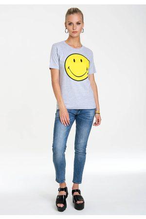 Logoshirt T-Shirt »Smiley«, mit lizenziertem Originaldesign
