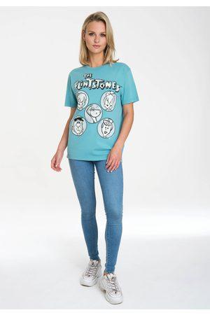Logoshirt Damen Shirts - T-Shirt »The Flintstones«, mit lizenziertem Originaldesign