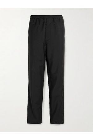 Acne Studios Herren Jogginghosen - Straight-Leg Wool and Mohair-Blend Grain de Poudre Trousers