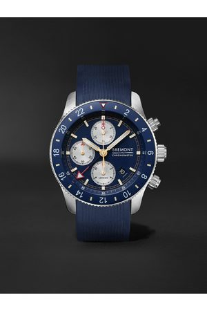 Bremont Supermarine Sport Automatic Chronograph 43mm Stainless Steel and Rubber Watch, Ref. No. S200