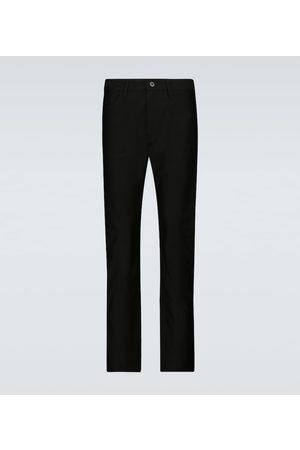 Junya Watanabe Damen Slim & Skinny Hosen - Slim-Hose aus Baumwolle
