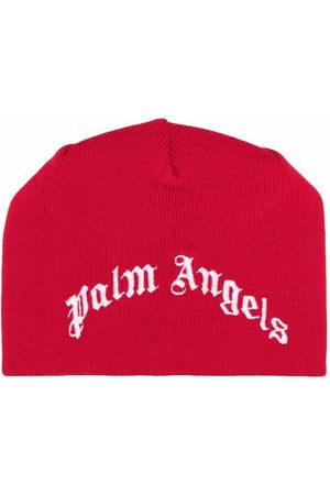 Palm Angels Beanie mit Intarsien-Logo