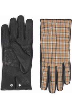 Burberry Handschuhe mit Vintage-Check