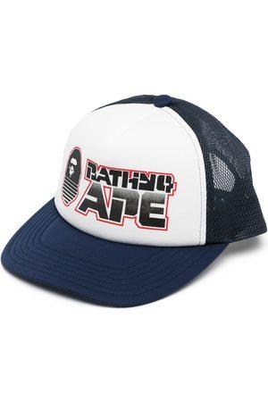 A BATHING APE® Graphic snapback cap