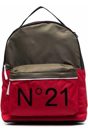 Nº21 TEEN Rucksack mit Logo-Print