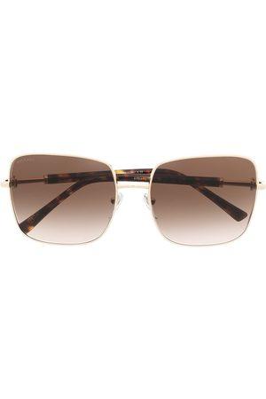 Bvlgari Damen Sonnenbrillen - Sonnenbrille mit eckigem Gestell
