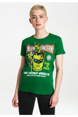 LOGOSHIRT Damen Shirts - T-Shirt »Green Lantern – Power«, mit lizenziertem Originaldesign