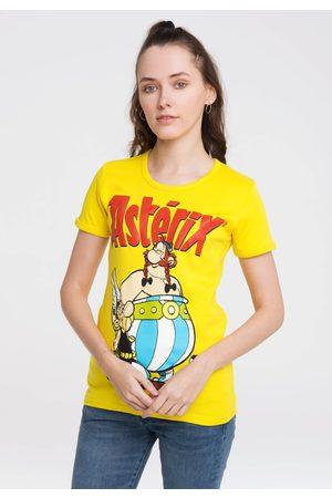 LOGOSHIRT Damen Shirts - T-Shirt »Asterix der Gallier«, mit lizenziertem Originaldesign
