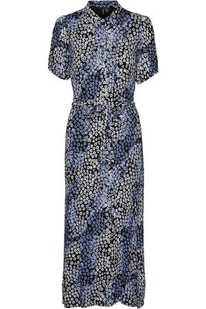 VERO MODA Hemdblusenkleid »VMGLORY S/S ANCLE SHIRT DRESS«