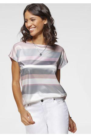 laura scott Damen Shirts - Blusenshirt, in modischem Streifen-Design - NEUE FARBEN