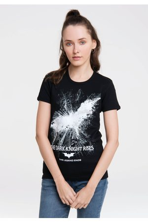 Logoshirt Damen Shirts - T-Shirt »Batman – The Dark Knight Rises«, mit lizenziertem Print